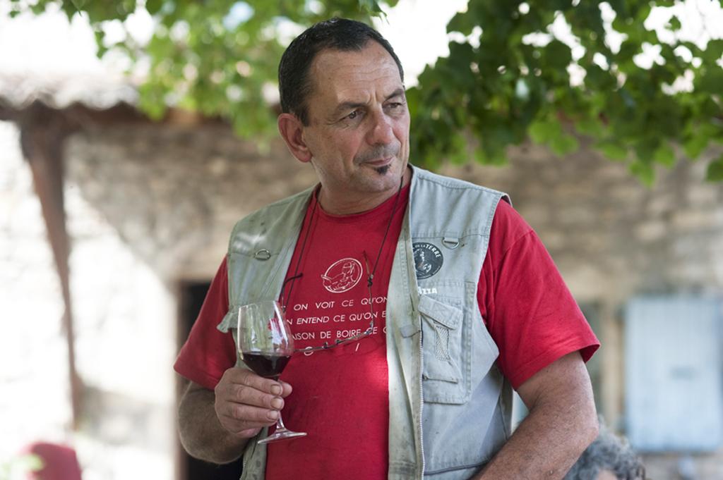 Vendanges chez Gilles Azzoni – Le Raisin et l'Ange (07)