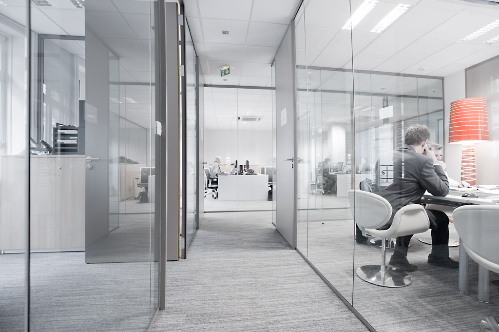 CBRE, agencement de bureaux