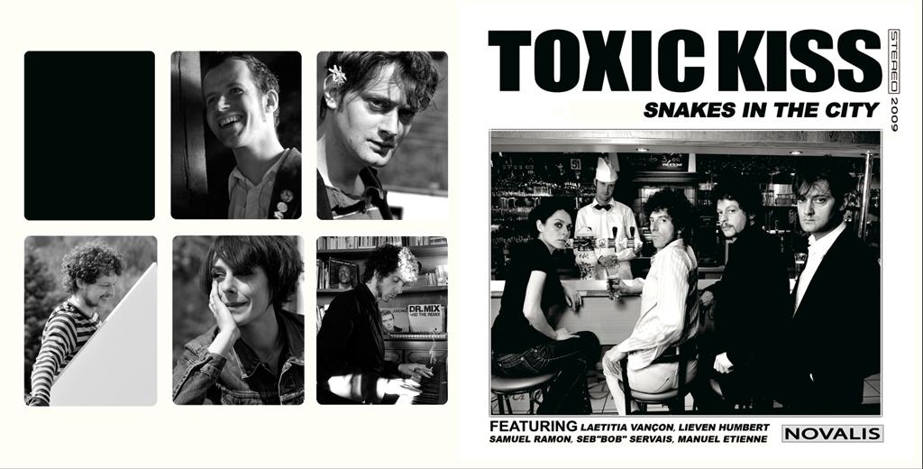 Pochette de l'album des Toxic Kiss