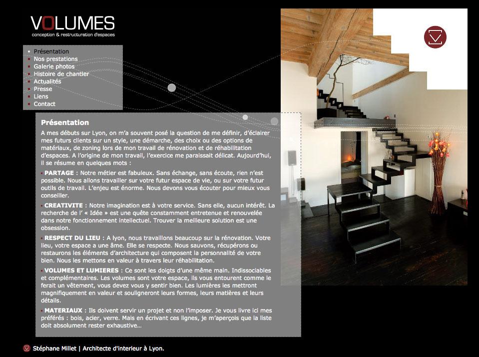Volumes Architecture